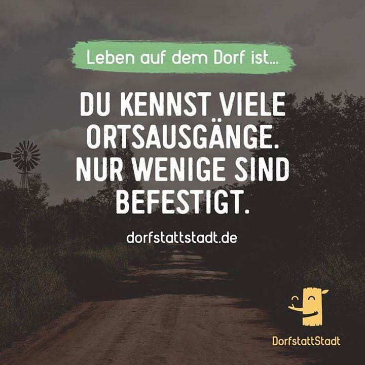 """""""Ich kenn da eine Abkürzung.."""" #dorfstattstadt - http://ift.tt/2dz8DQ3 - #dorfkindmoment #dorfstattstadt"""