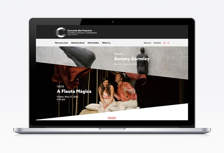 Convento São Francisco. Visual Identity, Signage and Webdesign by FBA.