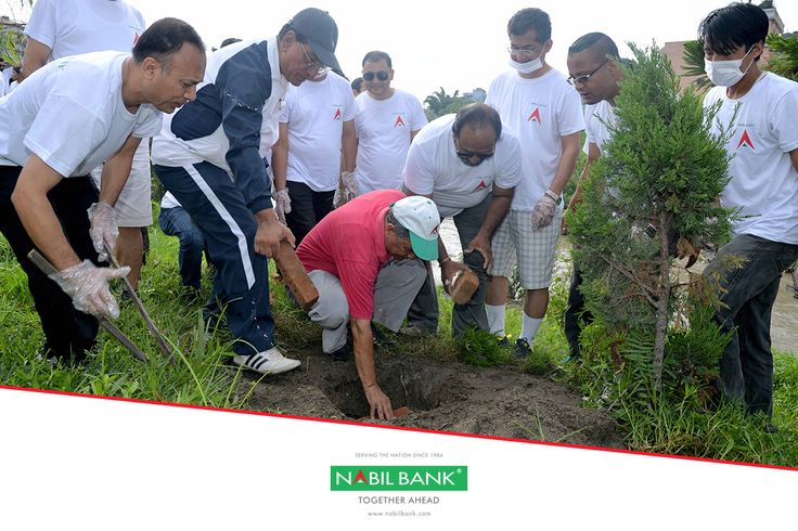 In line to celebrate Bank's 33rd anniversary organizing various social activities throughout the Nation, Nabil Bank has conducted a tree plantation and cleaning program alongside of Bagmati river belt, Minbhawan on August 5, 2017 with a view to conserving environment and maintaining greenery. The tree plantation was initially done during July 2014 in this area on the occasion of bank's 30th anniversary and since then Bank has been continuously maintaining this plantation site.  Bank's…