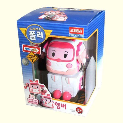 #Amber #RobocarPoli #Transformation Robot #Korea TV Animation Academy Gift Car #Toy