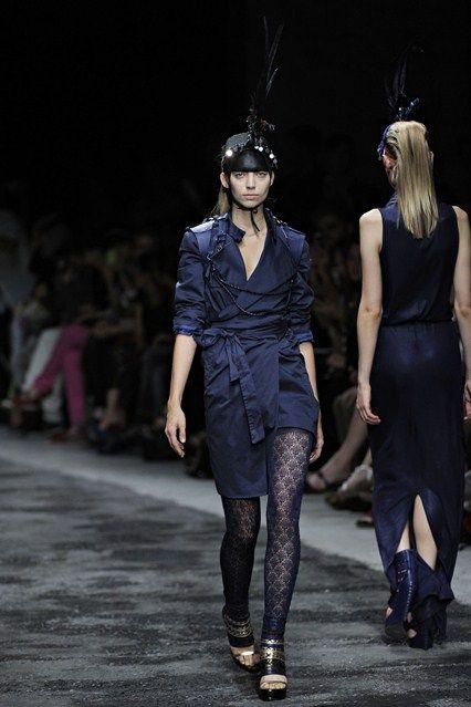 AF Vandevorst - Spring/Summer 2012 Ready-To-Wear - PFW (Vogue.co.uk)