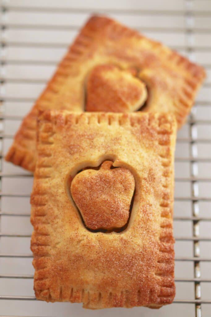 Homemade Pop-Tarts: Apple Pie, S'mores and Funfetti - Gemma's Bigger Bolder Baking