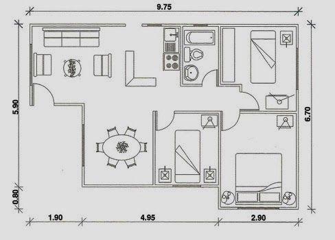 1000 ideas about modelos casas prefabricadas on pinterest for Planos de casas chicas