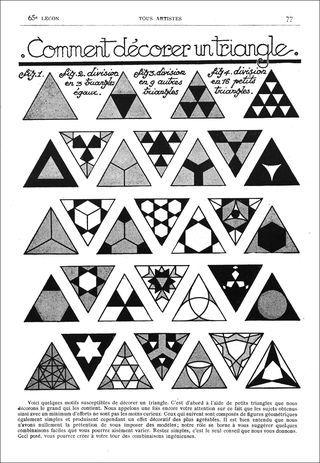 Zentangle Triangle Ideas