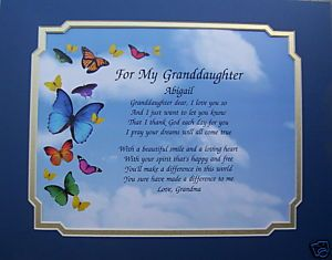 Inspirational Quotes About Grand Daughters Granddaughter