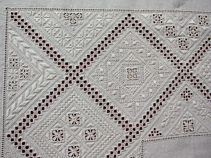Lefkara embroidery (detail) ~ by Joke Bosman