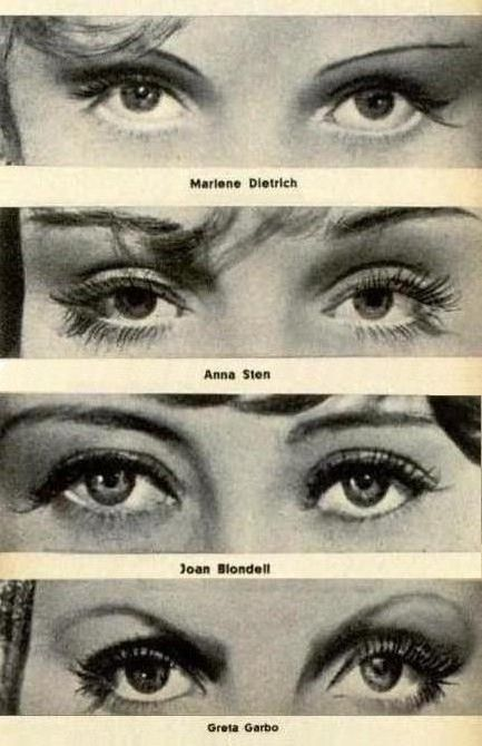 Famous eyes from the 1930s