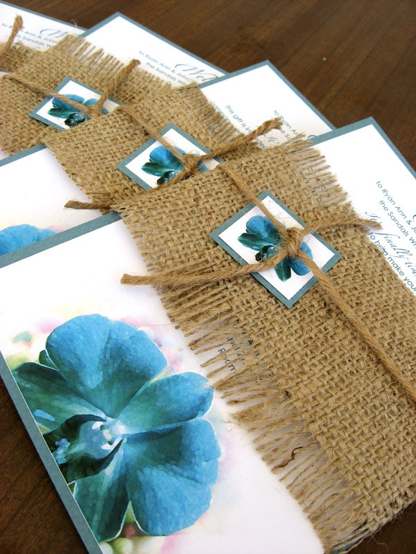 beach wedding invitation samples%0A Custom Hawaiian Tropical Burlap Turquoise Orchid Beach Destination Wedding  Welcome Card Invitation         via