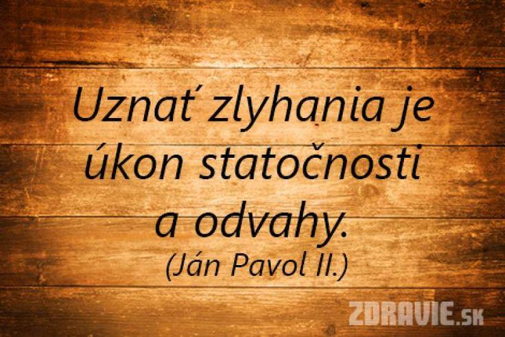 Ján Pavol II. citát