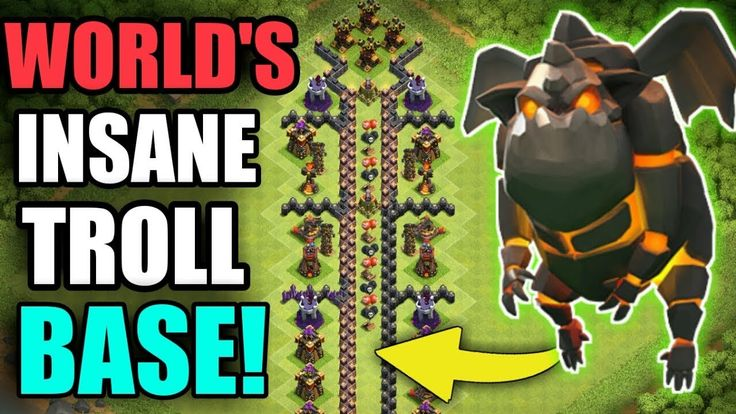 WORLD'S INSANE TROLL BASE | CAN LAVA HOUND TAKE DOWN THE AIR DEFENCE | CLASH OF CLANS Clash of Clans new troll base skeleton design in clash of clans! Epic trolling town hall 10 max troops! Can lava hound take down the air defence! Follow me on instagram: http://ift.tt/2hSUQJ4 Twitter: https://www.twitter.com/sahaaman6 __ Clash of Clans is an addictive multi-player game which consists of fast paced action combat. Build and lead your personalized armies through enemy bases taking gold elixir…