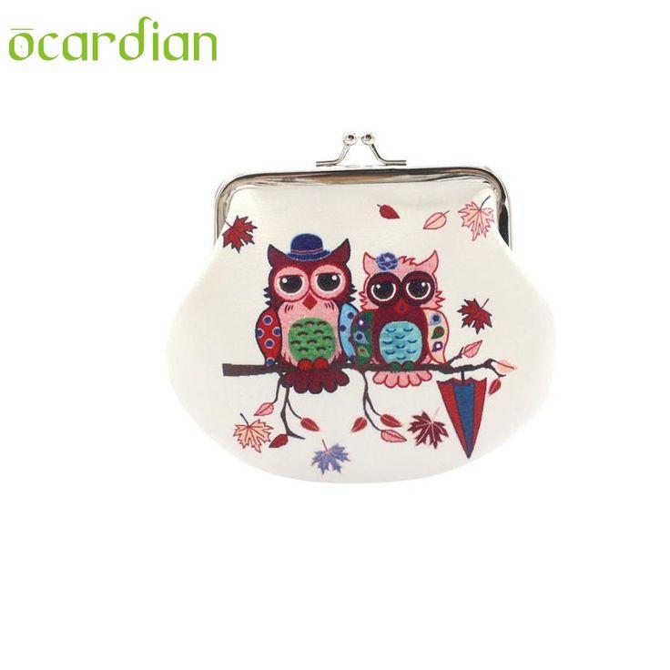 OCARDIAN New Fashion Cute Womens Owl Printing Wallet Coin Purse Holder Clutch Handbag AUG11 drop shipping Mar 20