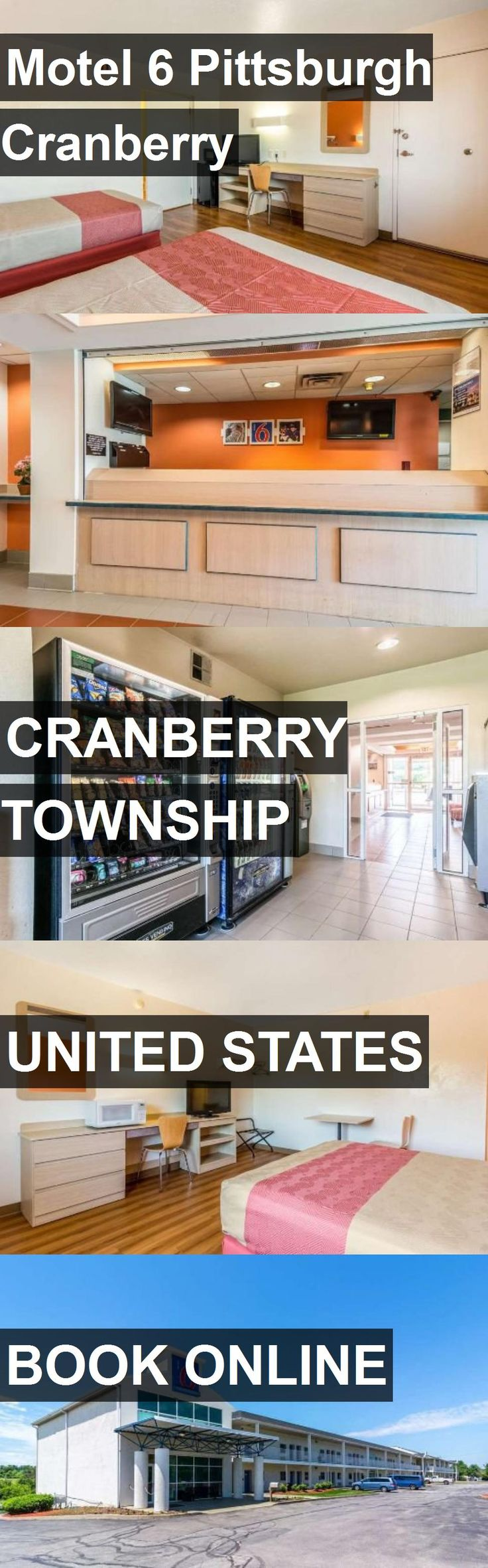 Hotel Motel 6 Pittsburgh Cranberry in Cranberry Township, United States. For more information, photos, reviews and best prices please follow the link. #UnitedStates #CranberryTownship #travel #vacation #hotel