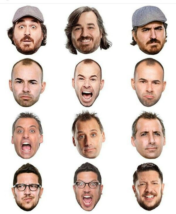 Many faces of impractical jokers ♥️