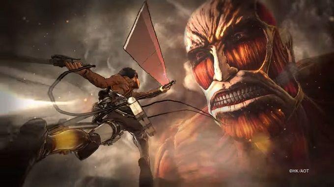 Shingeki no Kyojin tendrá juego para PlayStation 4, PlayStation 3 y PS Vita en 2016.