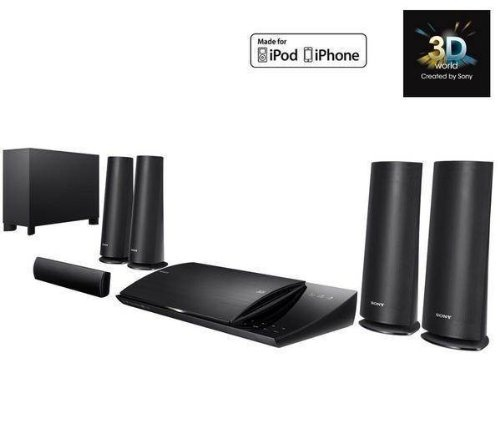 SONY BDV-N590 3D Home cinema system + F3Y021BF2M HDMI 1.4 Cable - 2 m + VLB 50A x 2 speaker wall brackets - http://www.cheaptohome.co.uk/sony-bdv-n590-3d-home-cinema-system-f3y021bf2m-hdmi-1-4-cable-2-m-vlb-50a-x-2-speaker-wall-brackets/