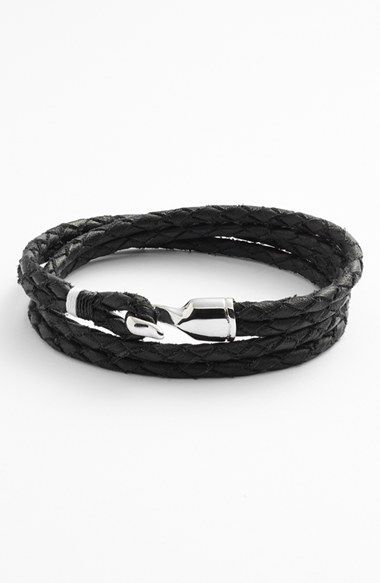 Miansai+'Trice'+Braided+Leather+Wrap+Bracelet+available+at+#Nordstrom