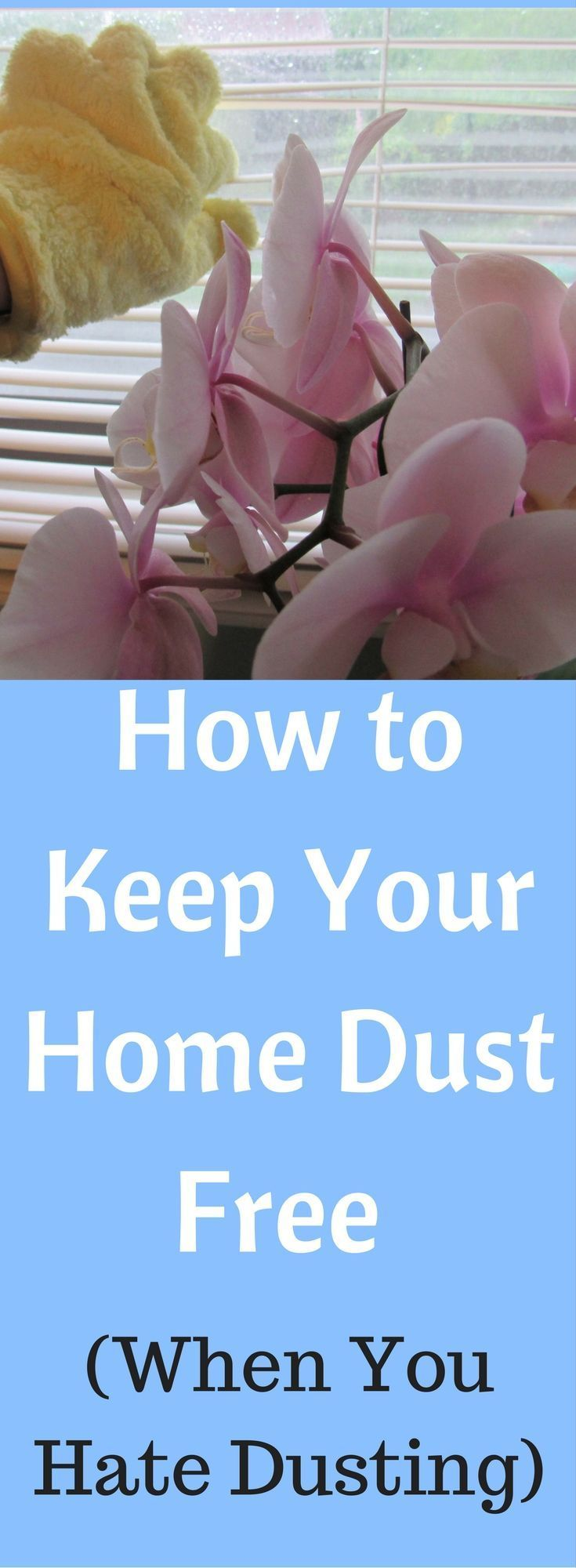 Cleaning Tips | Dusting Tips | How to Keep Your Home Dust Free | Lower Allergens | Allergy Tips | Keep Your Home Clean | Spring Cleaning | Cleaning Routine | How to Clean Your Blinds | AD