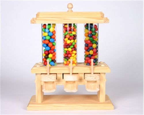 free wooden gumball machine plans