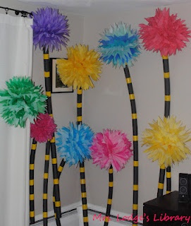 lorax trees-landscape project for the hallway