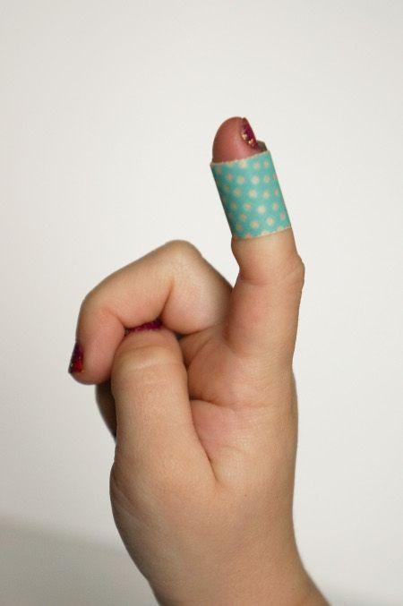 Make Washi Tape Band Aids
