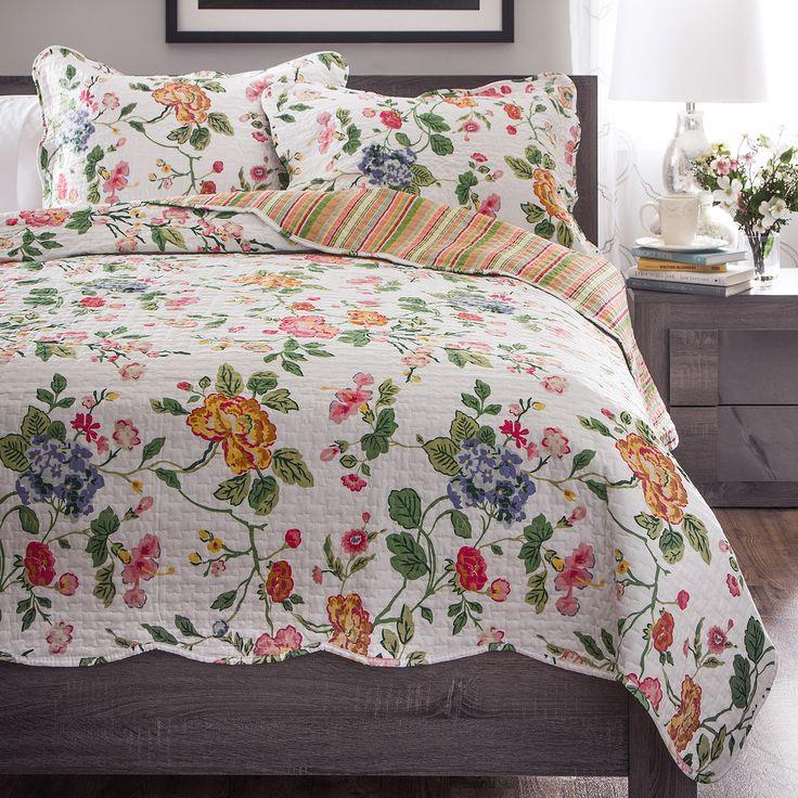 Slumber Shop Amie 3 Piece Reversible Quilt Set Quilt
