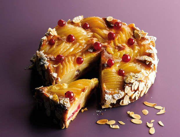 """La tarte Bourdaloue de Christophe MichalakVoir la recette de la tarte Bourdaloue de Christophe MichalakRecette extraite de """"les Meilleurs Desserts de France"""" (Gründ)"""