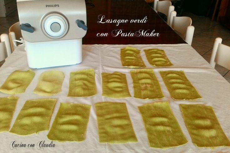 Lasagne verdi con PastaMaker