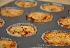 Recepty na hubnutí - Kokosové muffiny bez mouky