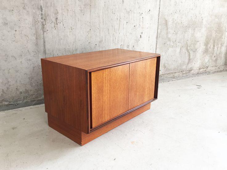 G Plan Mid Century Teak Storage Cabinet 1970s