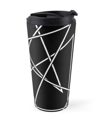 """Tongue-tied & twisted"" Travel Mugs by Didi Kasa 