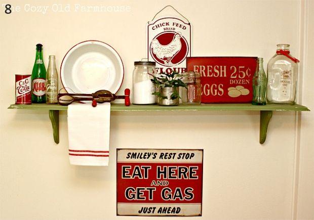 Ideias bacanérrimas para organizar e deixar sua cozinha um luxo! Imagens que eu captei por aí e que tenho certeza que vocês vão curtir também. Tendência forte das prateleiras ou armários abertos (q…
