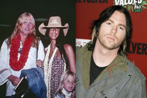 Where Is Cher Son Elijah Blue | Gregg Allman, Cher and Elijah Blue Allman - Families of Rock - Zimbio