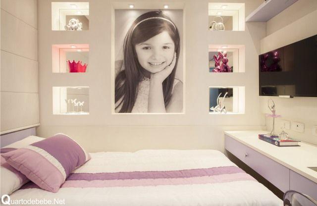 Quarto menina decorado foto