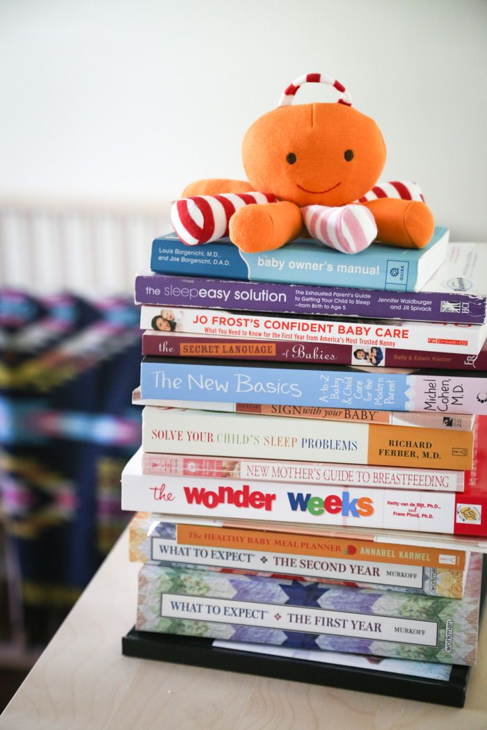 Best Books for the First Year of Parenting