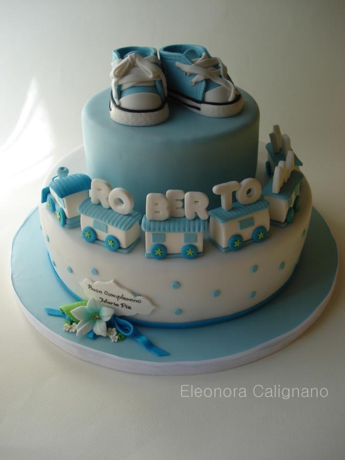 Two birthday...one cake! - Cake by Eleonora Calignano