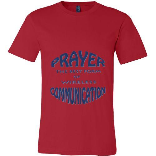 Canvas Mens Shirt - Prayer - The Best