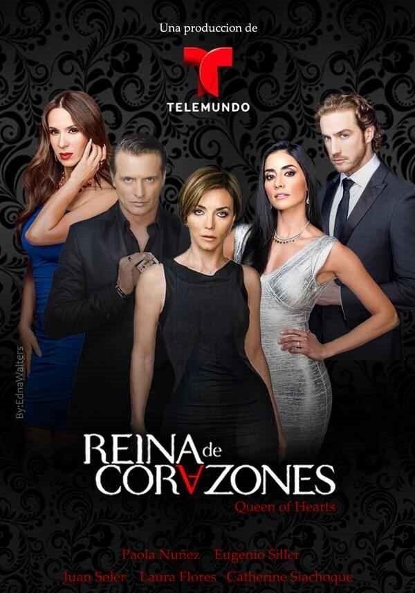 Королева сердец / Reina de corazones Все серии (Телемундо, 2014) смотреть онлайн на русском языке