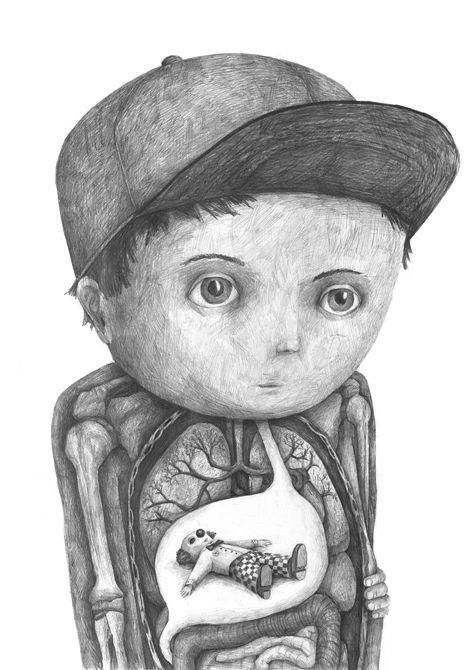 Wonderful Pencil Drawings by Stefan Zsaitsits