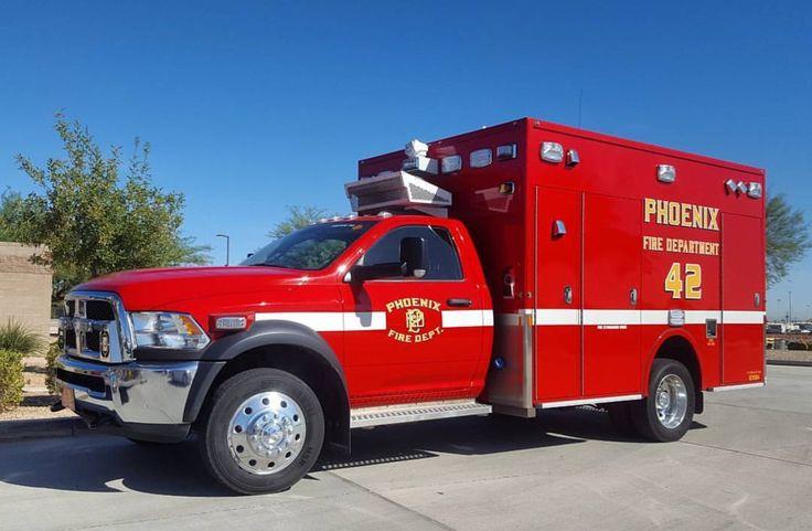 Phoenix (AZ) Fire Dept. Ambulance 42 Ram 5500HD (With