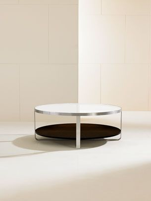 Thin Table / Contemporary / Glass LENS By Barbara Barry HBF