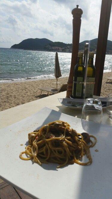 Spaghetti al Granchio