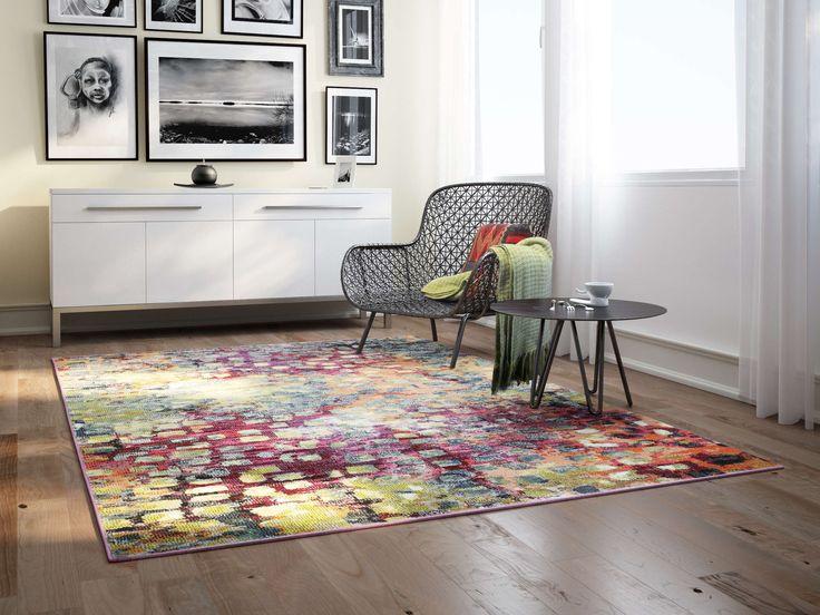Deze moderne tapijten zijn beschikbaar in diverse afmetingen en patronen en geven een schitterend accent aan uw interieur.  Voor deze tapijten is een kunststof materiaal met textieleigenschappen gebruikt.