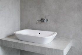Mikrosementti ja Mikrobetoni - Kylpytilat betonista | Kosteat tilat betonilattia betoniseinä | Märkätilat betonista