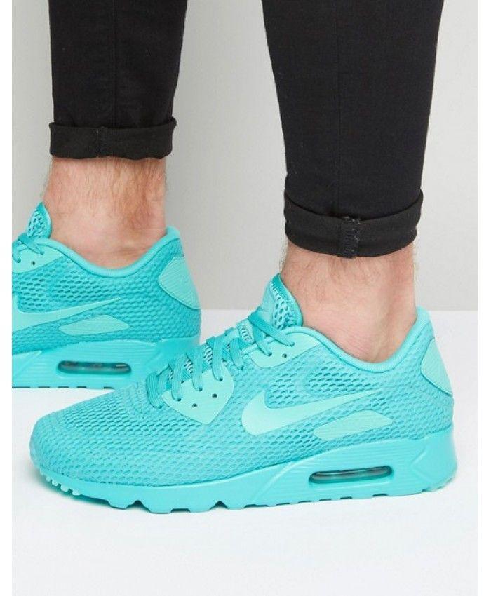 Nike Air Max 90 Ultra Breathe Green Shoes Sale  1e916b7a4f
