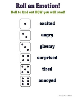 This idea is for fluency, but I think it would be a great way to teach emotion in theatre.