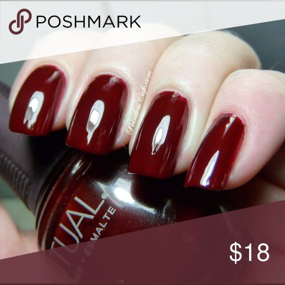 """💅 SpaRitual """"Spread your Wings"""" Nail Polish Spread Your Wings. WINE RED CRÈME - 80157. Includes manicure set (4th picture). New nail file. *Nail polish and rest of the set used once. SpaRitual Other"""