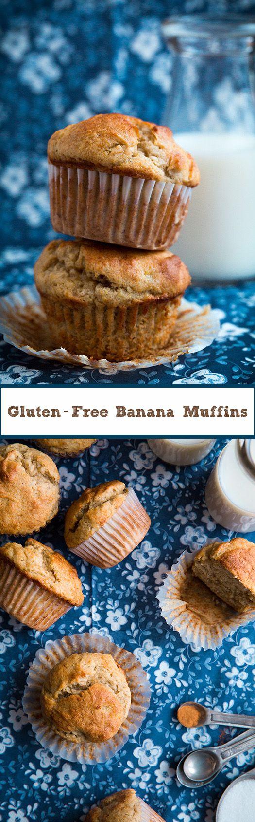 Gluten-Free Banana Muffins - Cooking Classy
