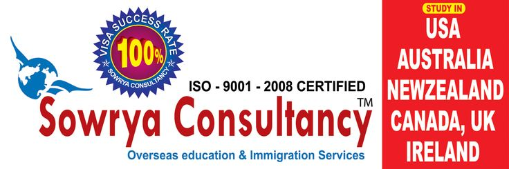 Study in Abroad contact sowrya consultancy www.sowrya.com