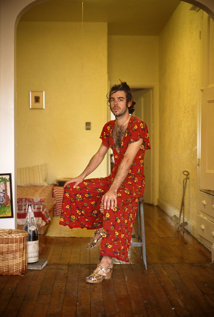 Portraits of Men in Their Girlfriends' Clothes Show Feminist Shifts in Modern…