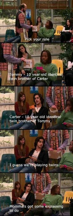 OMG I love this show and I repeatedly watched this episode over and over again and I didn't stop laughing